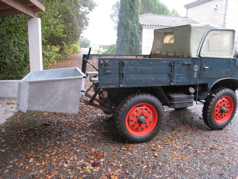 Unimog 401 Westfalia 1955 - RENOVATION - Page 3 00110