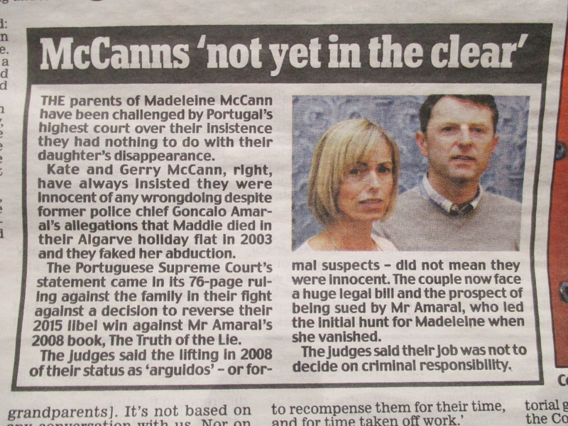 "Daily Mail headline: ""McCanns HAVEN'T been cleared"":  Clarence Mitchell did not want to respond to request for comment last night - Page 2 Mccann14"