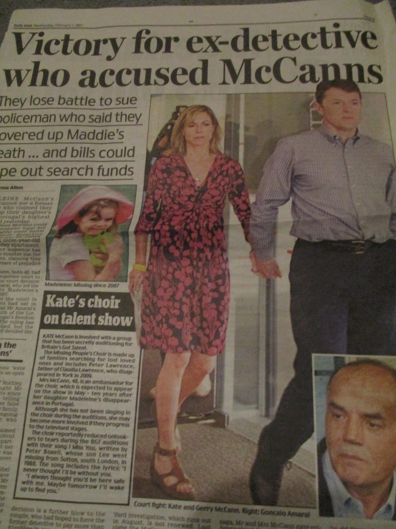 "Daily Mail headline: ""McCanns HAVEN'T been cleared"":  Clarence Mitchell did not want to respond to request for comment last night - Page 2 Mccann15"
