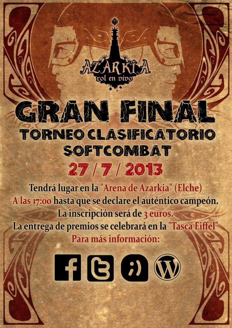 GRAN FINAL TORNEO SOFTCOMBAT CLASIFICATORIO Cartel10