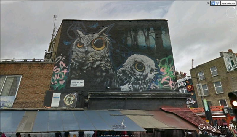 STREET VIEW : les fresques murales - MONDE (hors France) - Page 22 Camden10