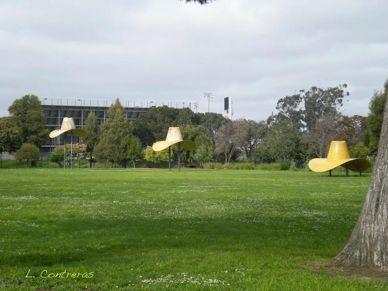 Chapeaux géants, Salinas, Californie - USA Chap110