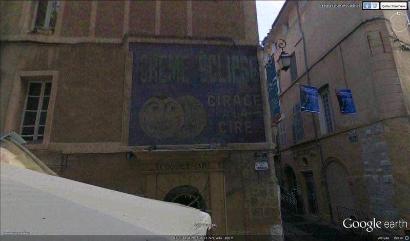 STREET VIEW : Vieilles publicités murales - Page 22 Cirage10