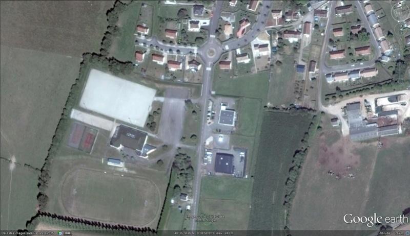 ( Bientôt visible sur Google-earth ) la première route solaire Tourouvre France D510