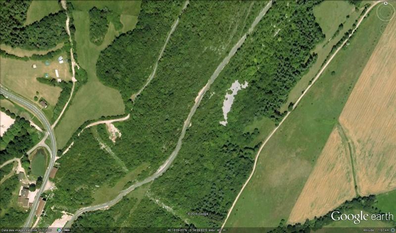 La plus longue piste de dinosaures, la Plagne, France Dino1a10