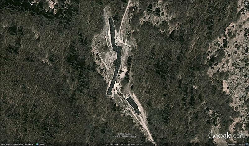 La plus longue piste de dinosaures, la Plagne, France Dino2a10