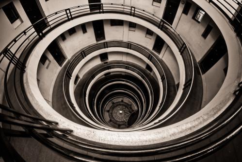 Maisons sans escalier, Saint-Etienne, Loire - France Heli211