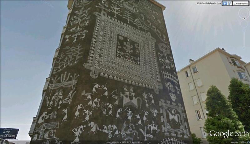 STREET VIEW : les fresques murales en France - Page 21 Inde10