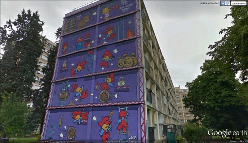 STREET VIEW : les fresques murales en France - Page 21 Mario10