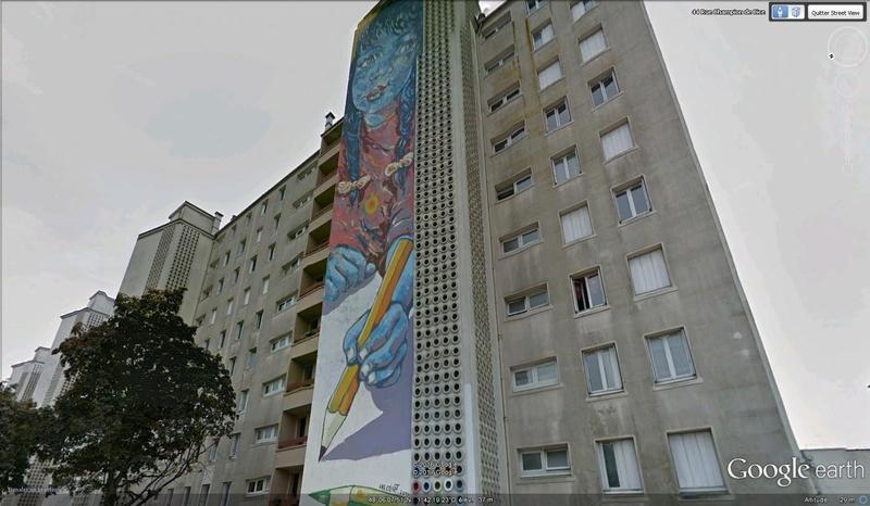 STREET VIEW : les fresques murales en France - Page 21 Rennes10