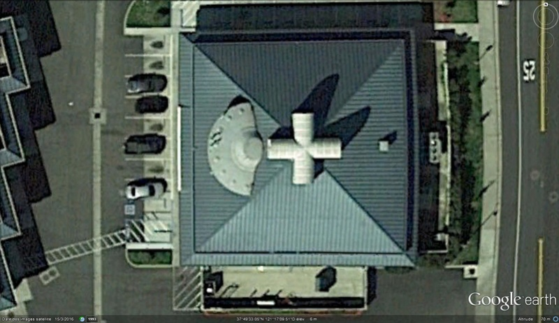 Soucoupe volante à Lathrop, Californie - USA Soucou12