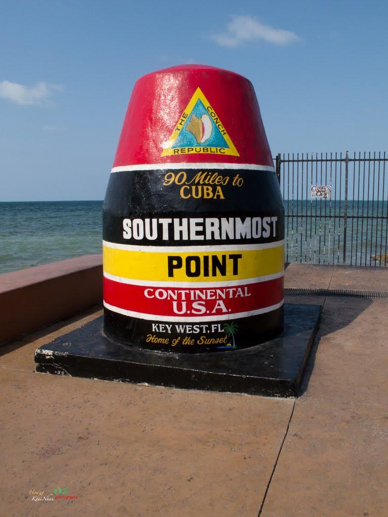 Borne sud des USA, Key West, Floride Sud10