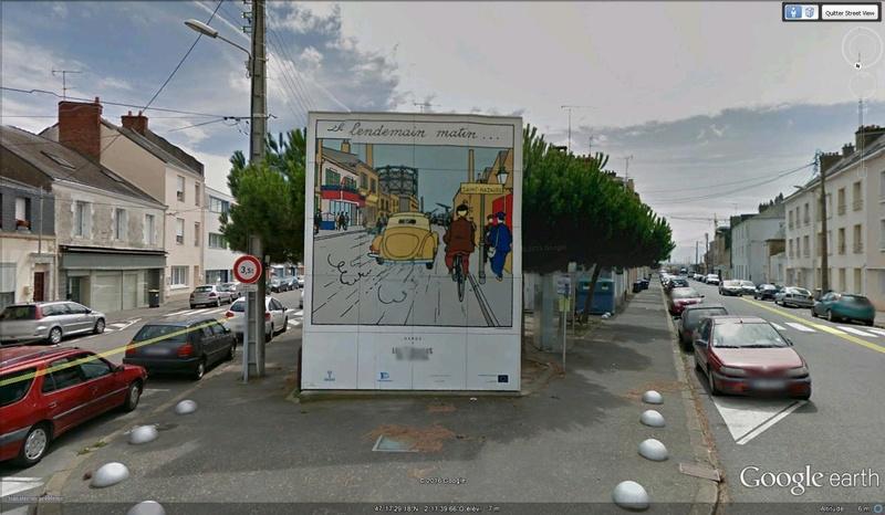 Tintin à St Nazaire France T310