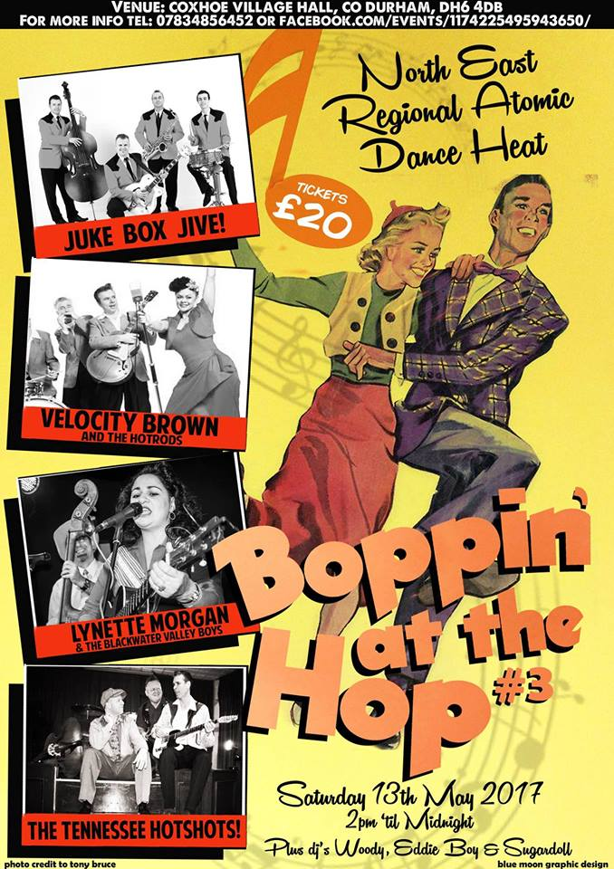 13/05/2017 Boppin at the Hop#3 (UK) Boppin10