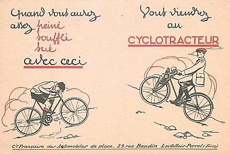 Cyclotracteur 1921. 1919_c10