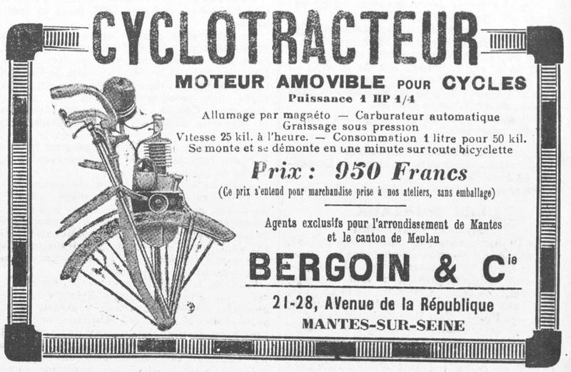 Cyclotracteur 1921. Arko_f10