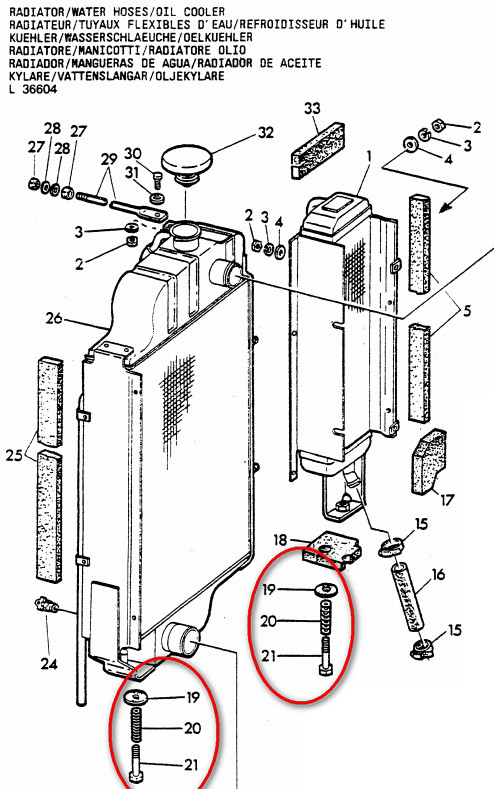 Démontage radiateur JD410 Radiat10