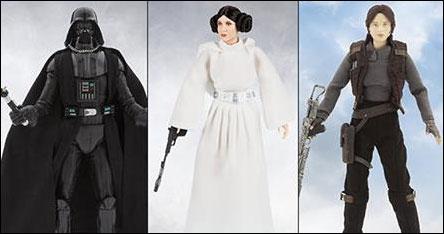 """Star Wars Disney store personaggi 10"""" con costumi di stoffa Disney10"""