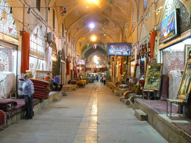 LE BAZAR DE KASHAN (IRAN) 40588310