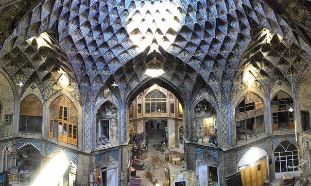 LE BAZAR DE KASHAN (IRAN) 52949810