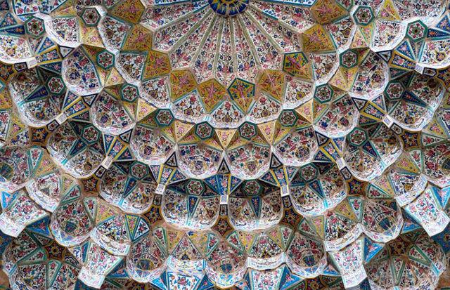 LE BAZAR DE KASHAN (IRAN) Dome10