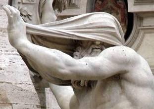 LA FONTAINE DES QUATRE FLEUVES Rome-r10