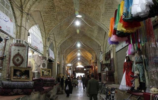 LE BAZAR DE KASHAN (IRAN) Vakil-10