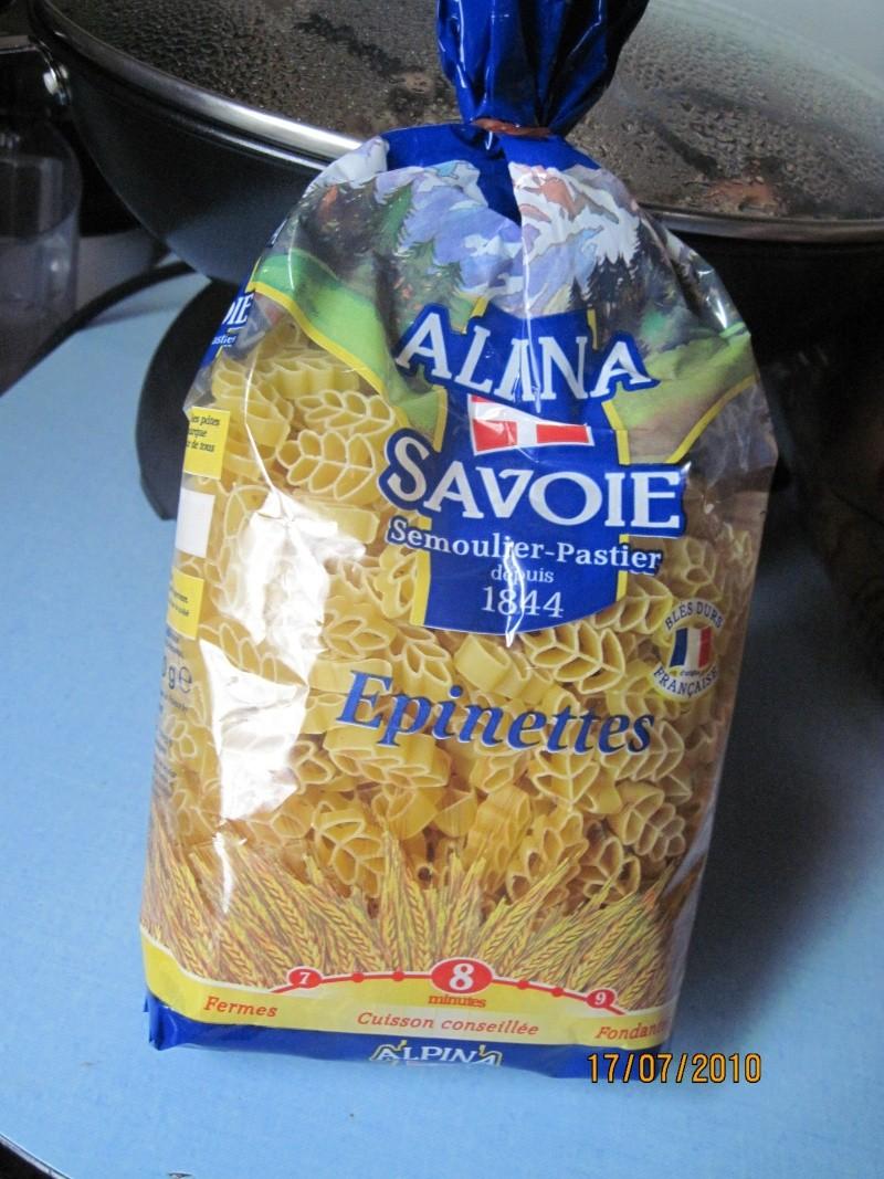 """pâte de Savoie """" Epinette"""" aux champignons frais Photos10"""