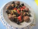 boulettes  à la Provençale aux légumes de saison Boulet10