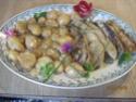 escalopes de porc aux pommes de terre en sauce au fromage Escalo10