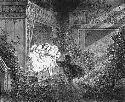 La Belle au bois dormant - Louise Ackermann Belle_10