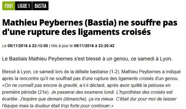 Après match : Lyon 2-1 Bastia S16