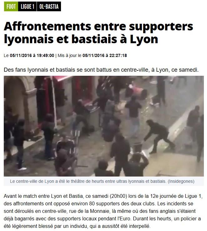 Après match : Lyon 2-1 Bastia S18