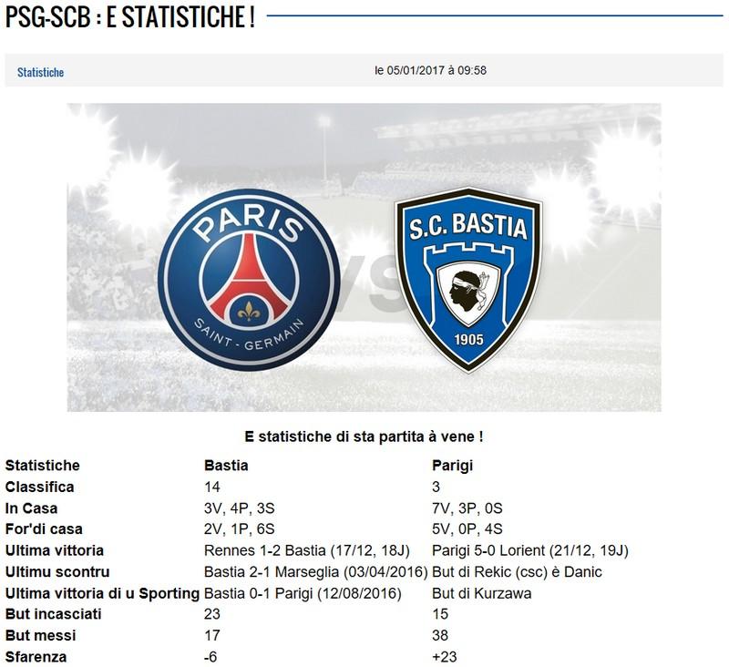 32CdF / Jeu des pronos - Prono PSG-Bastia S59
