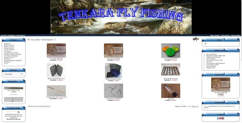 Solde  Chez TENKARA fLY fISHING Promoj10
