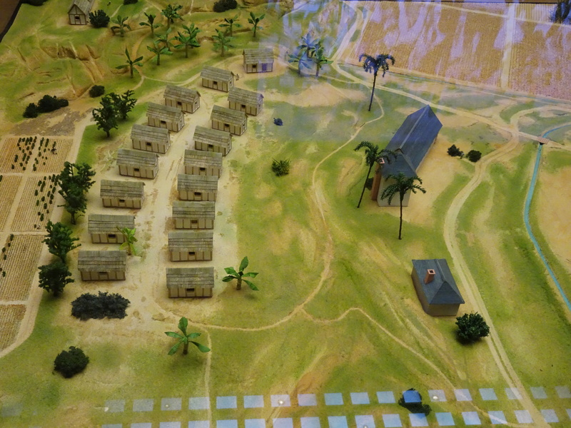 Une plantation de canne à sucre dans les Antilles au XVIIIème voire XIXème siècle... Dsc03318