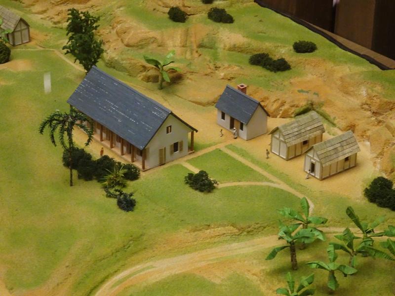 Une plantation de canne à sucre dans les Antilles au XVIIIème voire XIXème siècle... Dsc03321