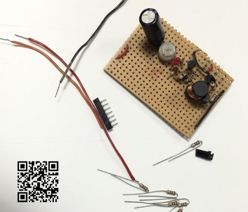 Un projet de compteur geiger à transistors - Page 2 Compos11