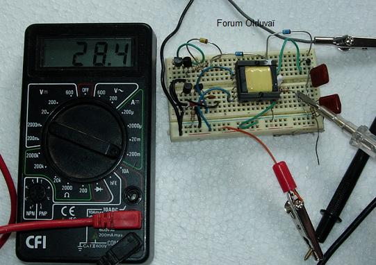 Un projet de compteur geiger à transistors Consoc10