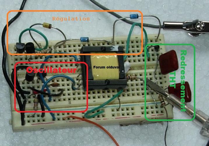 Un projet de compteur geiger à transistors Explic10