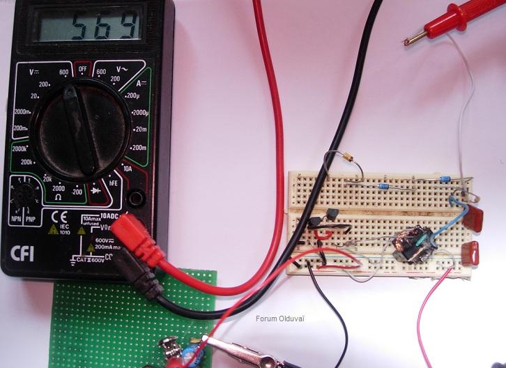 Un projet de compteur geiger à transistors Htdiyt10