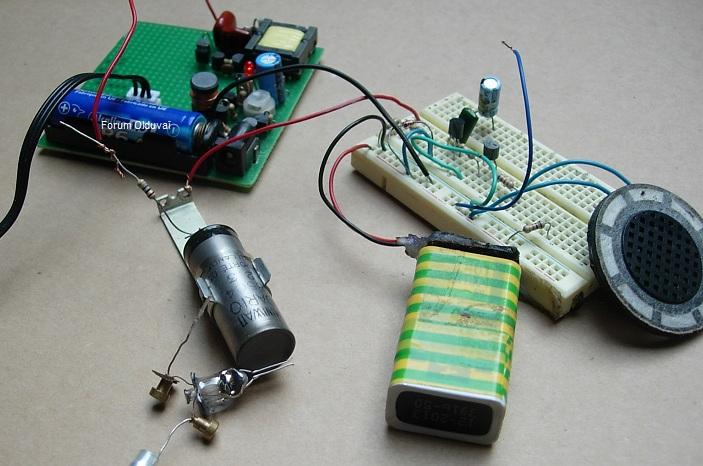 Un projet de compteur geiger à transistors Montag10