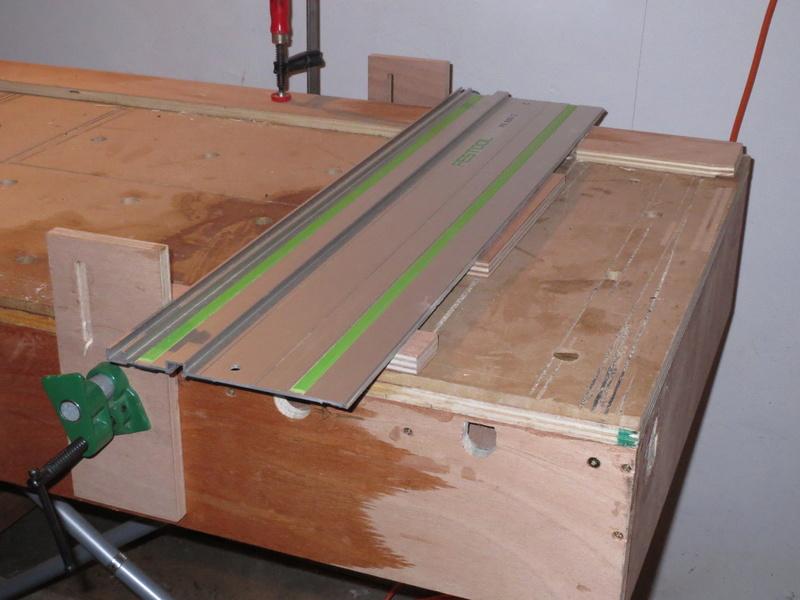Table de support pour scie plongeante TS55 Railts10