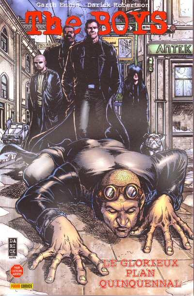 [Comic] Garth Ennis & Darick Robertson (The boys) Couver10