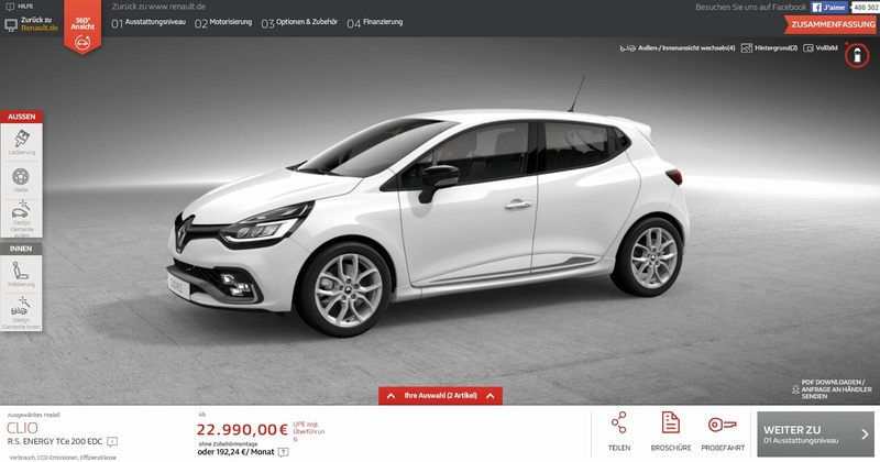 2016 - [Renault] Clio IV restylée - Page 4 Projet10