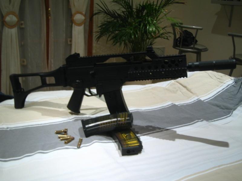 G36C + FAMAS (accessoires) + MAUSER SR + FUSIL A POMPE + SIG556 SHORTY  Img_0114