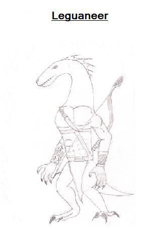Zeichnungen Leguan15