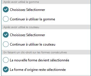 """Leçon 3 - Couper les lettres """"fermées"""" Select10"""