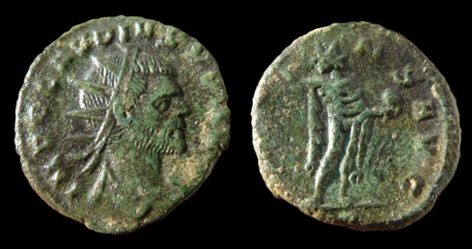 Antoninien de Claude II au revers SOL Ant510