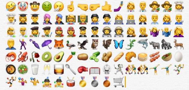 iOS 10.2 aggiornamento: emoji facepalm e gorilla Harambe Apple_10
